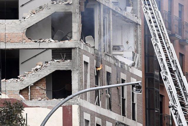 Foto edificio explosion madrid 5