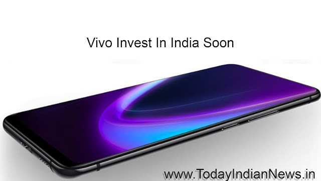 vivo invest in india soon