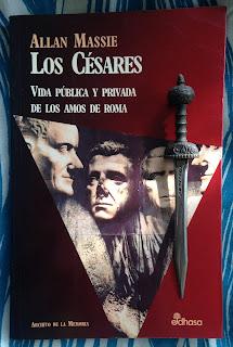Portada del libro Los Césares, de Allan Massie