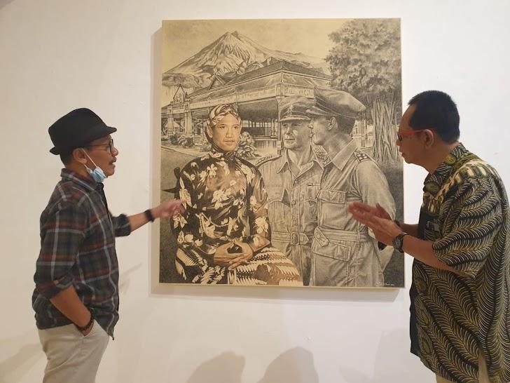 Pameran Tahta Untuk Rakyat, Cara Seniman Kisahkan HB IX Lewat Lukisan