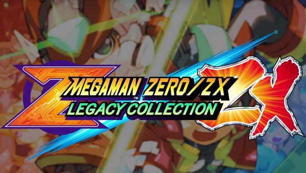 لعبة Mega Man Zero/ZX Legacy Collection