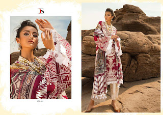 Deepsy Crimson lawn 19 Pakistani Salwar kameez wholesale