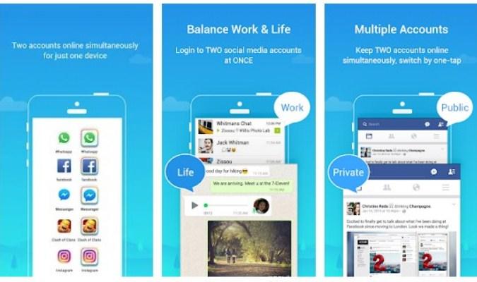 Sembunyikan ikon Aplikasi di Layar Android - Parallel Space
