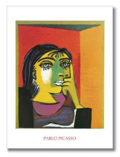 Dora Maar - poster - Pablo Picasso