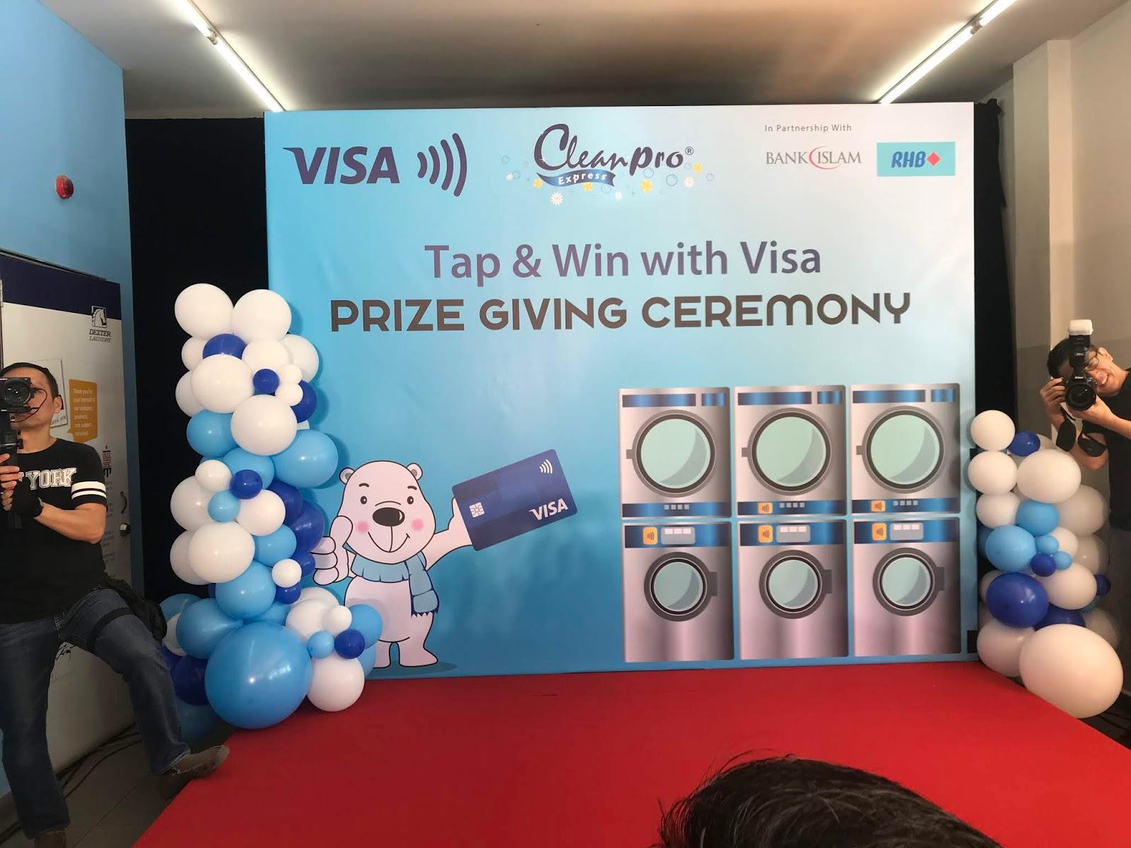 Cleanpro Ekspres Dan Visa Umumkan Pemenang Bertuah Peraduan Sentuh & Menang