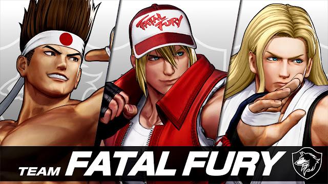 Revelados los integrantes del Team FATAL FURY en THE KING OF FIGHTERS XV