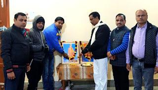 Jaunpur : भारत विकास परिषद ने मनाई स्वामी विवेकानन्द की जयंती