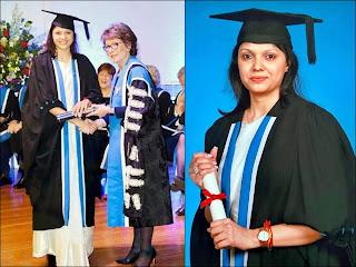 चिकित्सा के क्षेत्र में डाॅ. शीना भूरिया ने हासिल की एम.आर.सी.ओ.जी. की डिग्री