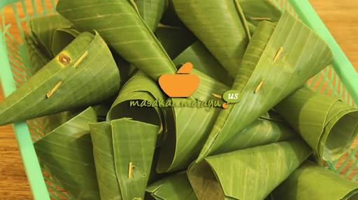 macam-macam lipatan daun pisang