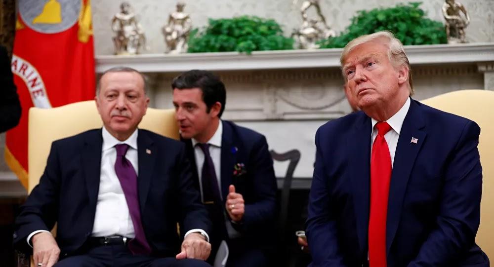 ترامب يبحث التوتر في البحر المتوسط مع زعيمي تركيا واليونان