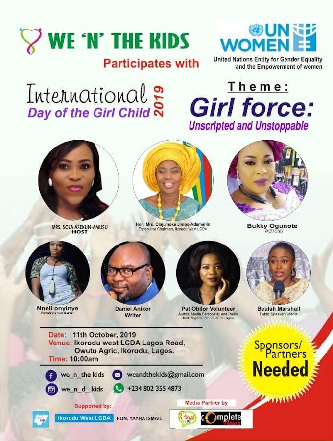 CSR in Action: Pat Obilor participates in the United Nations MDG goals to give back to Schools, mentor the Girlchild and speaks up against Boychild abuse with the Hastag #Boyslivesmatter #intlDayofthegirlchild