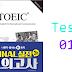 Listening New TOEIC Ending - Test 01