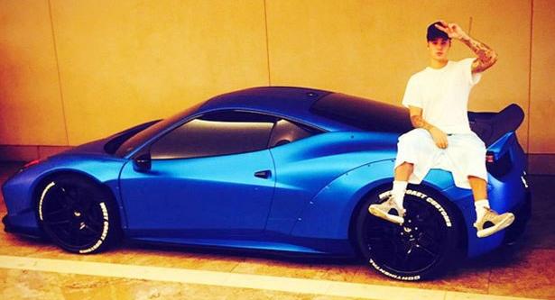 Justin Bieber Menangis Karena Mobil Mewahnya disembunyikan