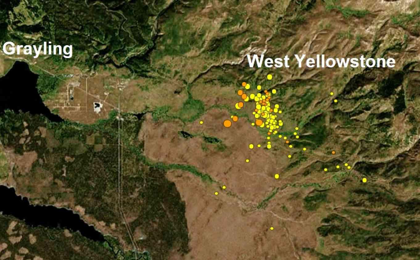 Swarm Of 200 Earthquakes Hits Yellowstone Supervolcano