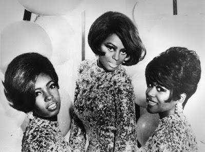 The Supremes, 1968. From left to right: Mary Wilson, Diana Ross and Cindy Birdsong.