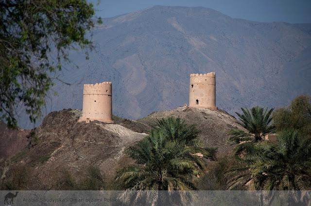 Twierdza w Samail czyli jak Wielbłąd nie umie robić zdjęć, to na palmy zgania