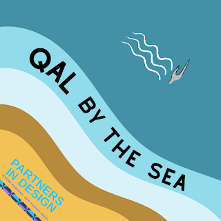 QAL be the Sea is the next quilt-a-long by the Partners in Design group of pattern designers