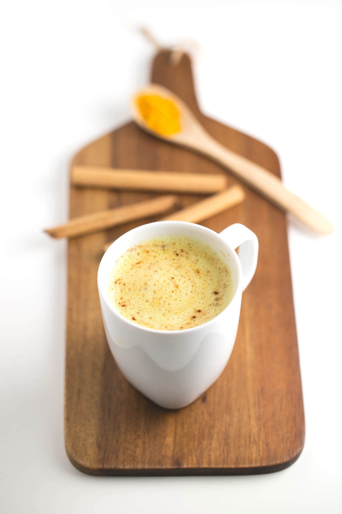 Turmeric latte: Turmeric latte is a perfect substitute for coffee. It is a very healthy, affordable, creamy and delicious drink; it has it all!