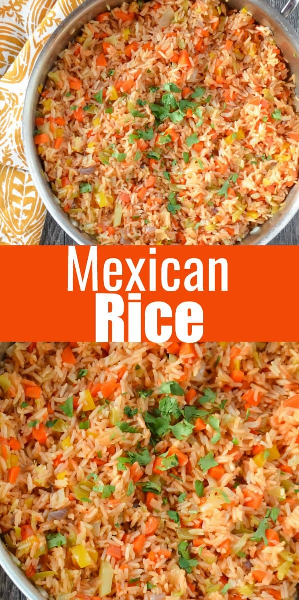 Easy to make Authentic Mexican Rice recipe like you find at your favorite Mexican Restaurant from Serena Bakes Simply From Scratch.