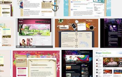 Cara mengganti template dari luar blogger.com
