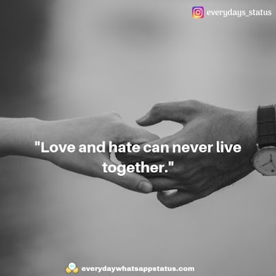 love quotes | Everyday Whatsapp Status | Unique 50+ love quotes image about life