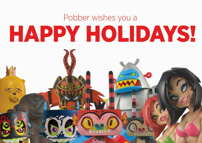 Happy Holidays from Pobber Toys