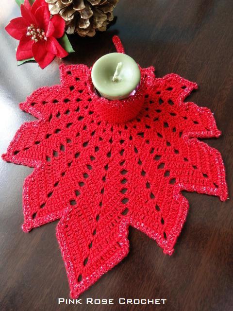 Dos carpetas navideas  con patrones  Todo crochet