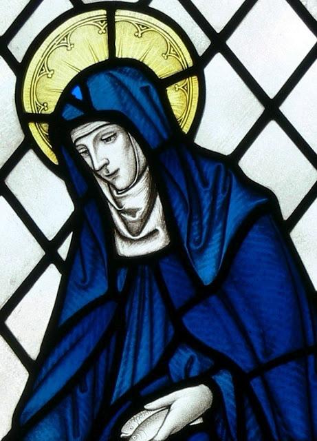 Santa Brígida de Kildare. Igreja de Nossa Senhora e São Non, São David, Gales
