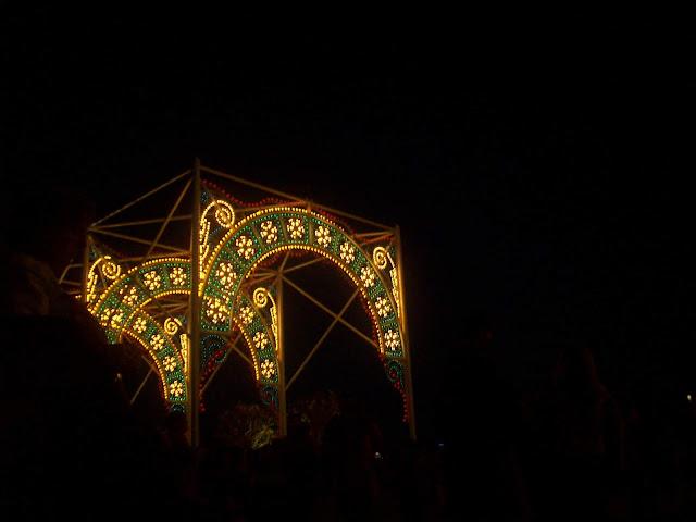 Lights of Winter At Night Epcot Walt Disney World