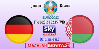 Prediksi Jerman vs Belarus — 17 November 2019