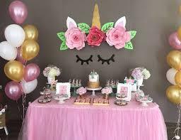 decoraciones de fiestas unicornio