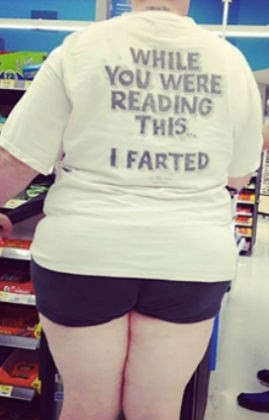 While You Were Reading This I Farted shirt.  PYGear.com