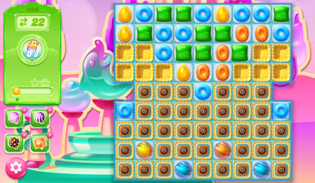 Candy Crush Jelly Saga 290