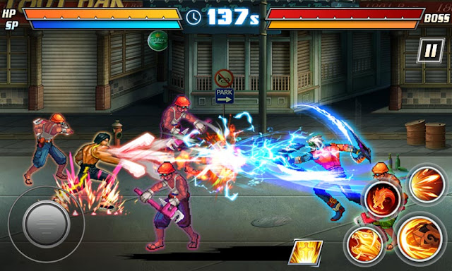 Game Pertarungan Android Death Street Fight 2 MOD APK