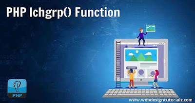 PHP lchgrp() Function
