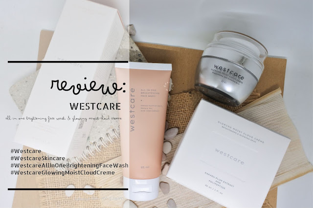 Westcare All In One Brightening Face Wash & Westcare Glowing Moist Cloud Creme