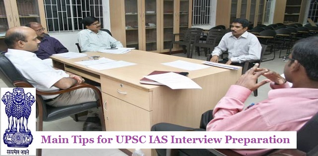 Tips for UPSC Interview