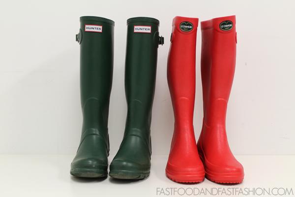 Review: Le Chameau Iris II Boots vs. Hunter Original Tall Boots