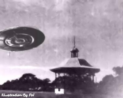 UFO Landed at Lambton Park