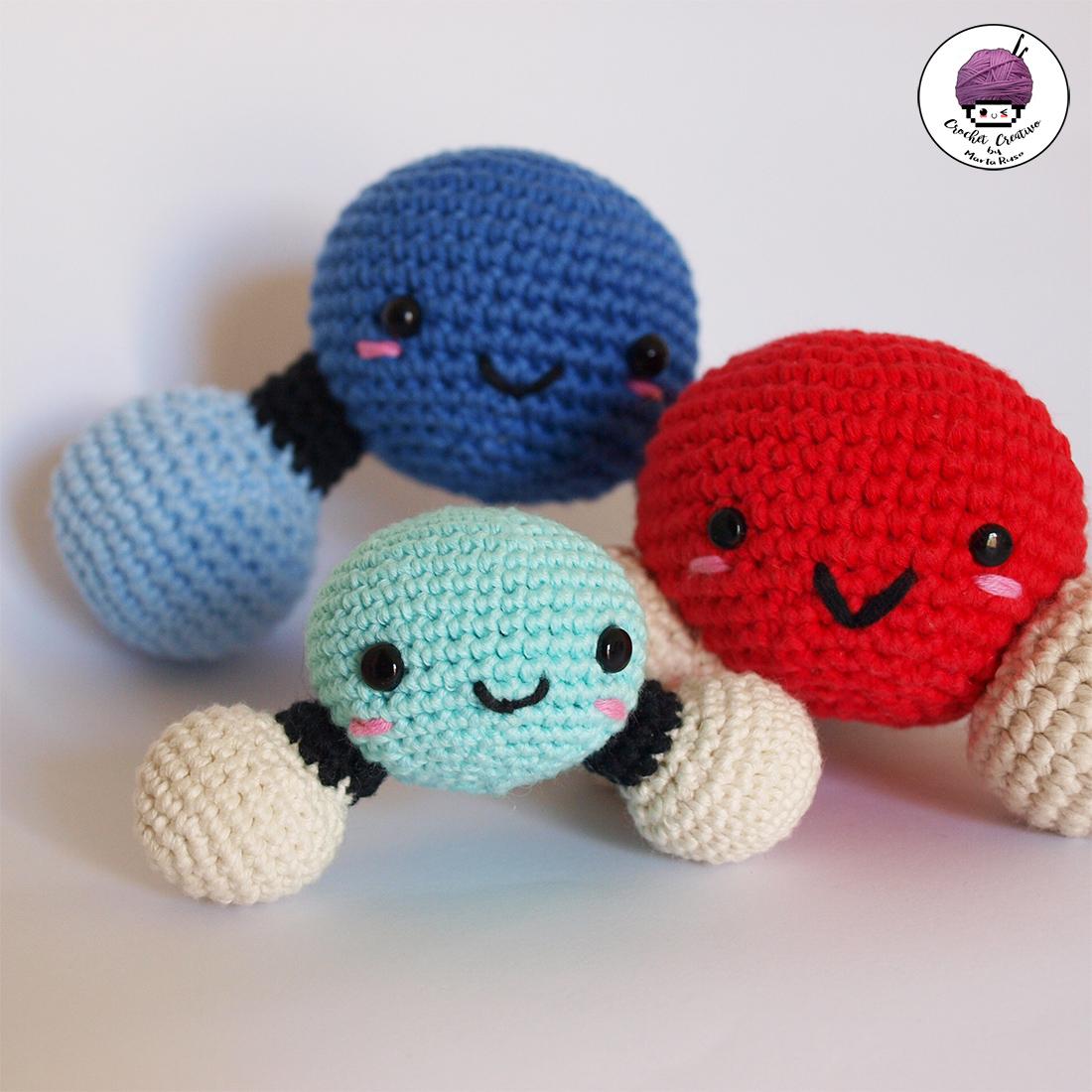 Marta Ruso Crochet Creativo: Patrones Amigurumis