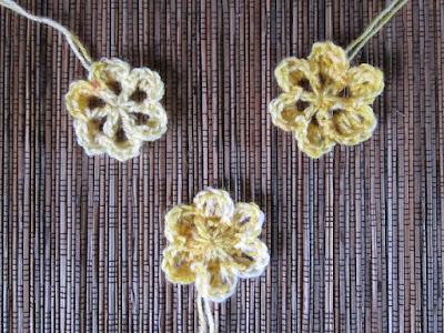 crochet, free pattern, flowers