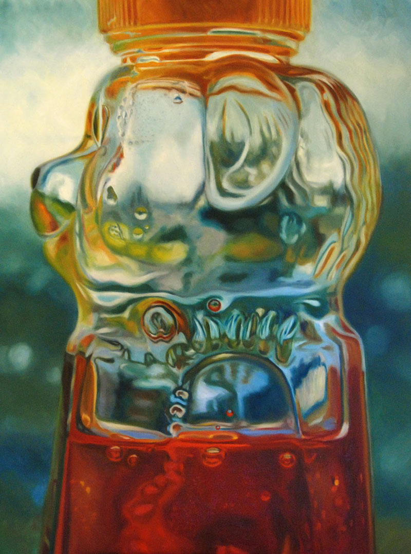 Honeybear Painting by Kristen Reitz-Green: