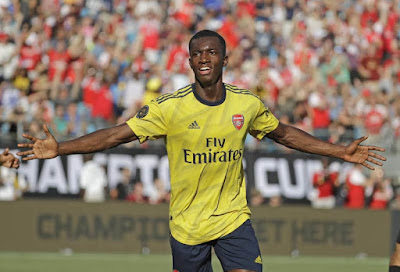Arsenal Football Club Continue Their Impressive Pre Season Run With Yet Another 3-0 Win Against Italian Serie A Side Forientina As Eddie Nketiah Once Again Made Headline For The Gunners After Scoring A Brace And Willock Rapping Things Up With A Wonderful Goal.