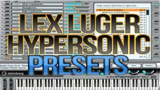 PRODUCER DRUMKITS AND TUTORIALS: [FREE] LEX LUGER HYPERSONIC