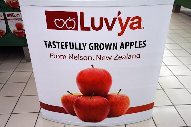 Amboi Ambrosia : Rasa Enak Epal Luv'Ya Dari New Zealand