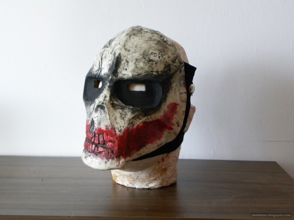 pkDemon Creations: Army of Two Rios mask Joker