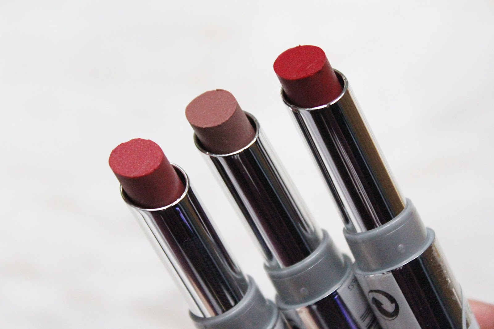 Lavera Lipsticks - Brilliant Care with Q10