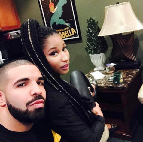 , Nicki Minaj & Drake reconcile (photos