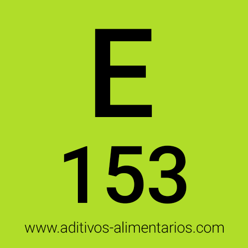 E153 - Carbón Vegetal