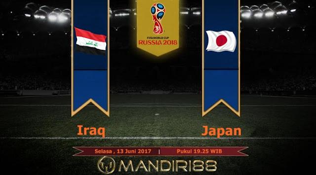 Prediksi Bola : Iraq ( N ) vs Japan , Selasa 13 Juni 2017 Pukul 19.25 WIB